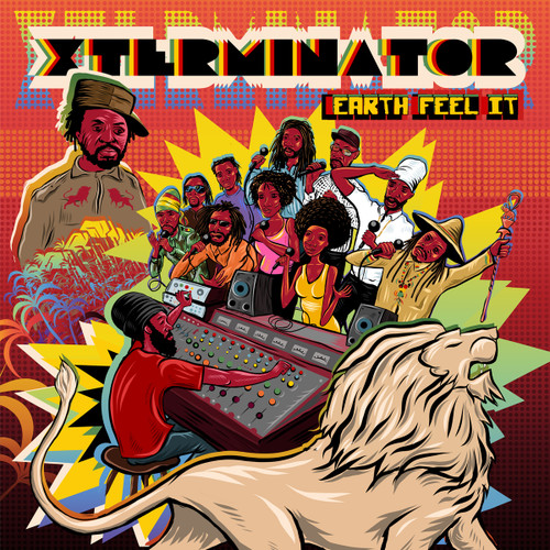"Xterminator - Earth Feel It (7"" Box Set) - Various Artists (7 Inch Vinyl)"