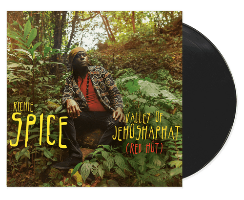 Valley Of Jehoshaphat (Red Hot) - Richie Spice (7 Inch Vinyl)
