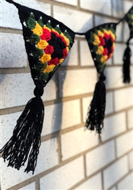 Rasta Garland  - Decoration