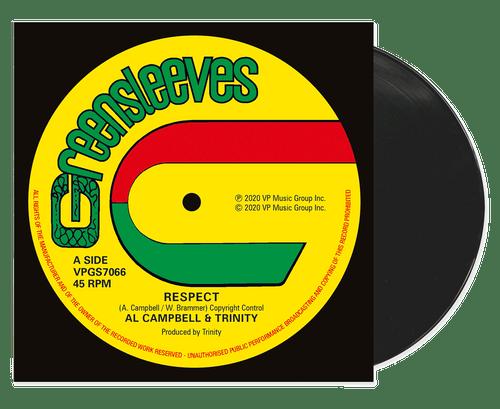 Respect - Al Campbell (12 Inch Vinyl)