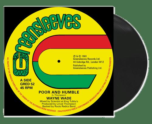 Poor And Humble - Wayne Wade (12 Inch Vinyl)