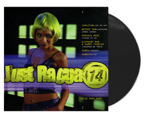 Just Ragga Vol.14 - Various Artists (LP)