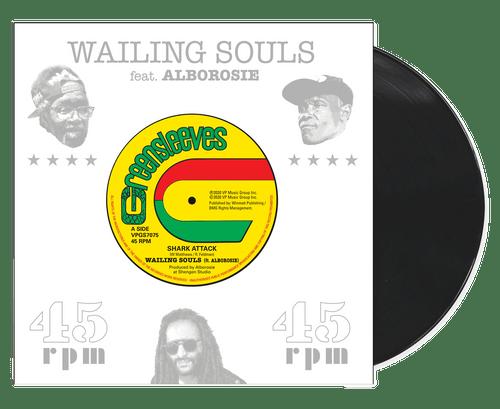 Shark Attack - Wailing Souls Feat. Alborosie (7 Inch Vinyl)