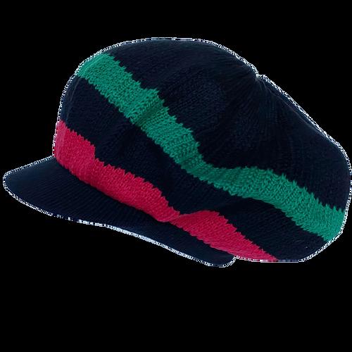 Knitted Tam - Africa W/ Visor