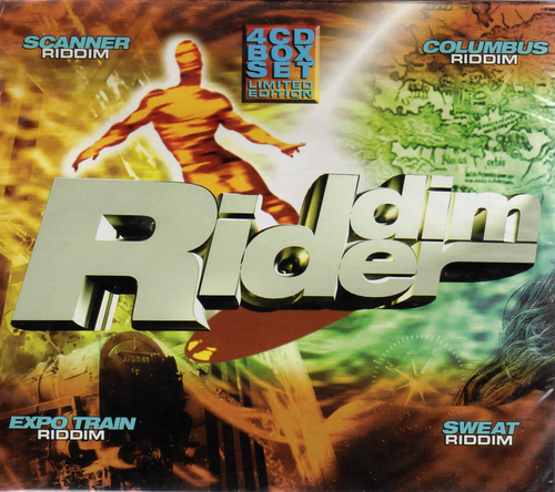 Riddim Rider 4CD Boxset - Various Artists