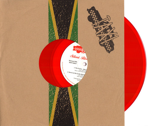 "Taxi Records Split (Red Vinyl 10"" Rsd Exclusive) - Bitty Mclean,  Bunny Rugs"