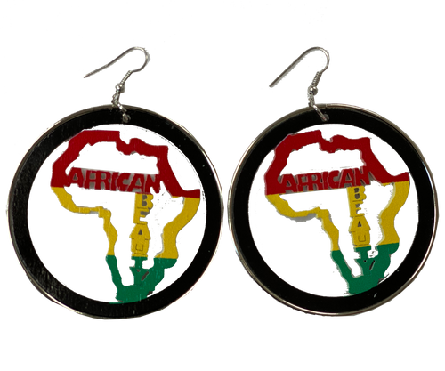 African Beauty Earrings