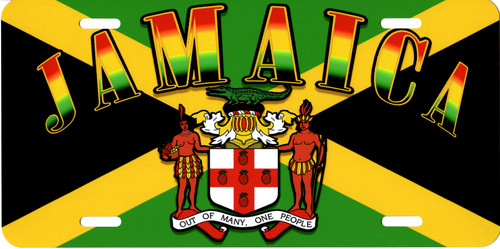 Jamaica License Plate