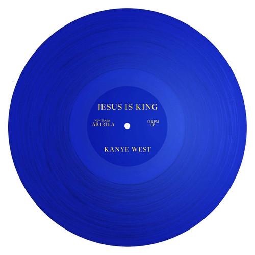 Jesus Is King (Blue Vinyl) - Kanye West (LP)