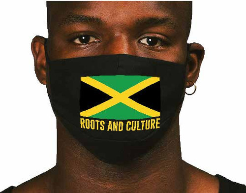 Jamaica Flag - Face Mask