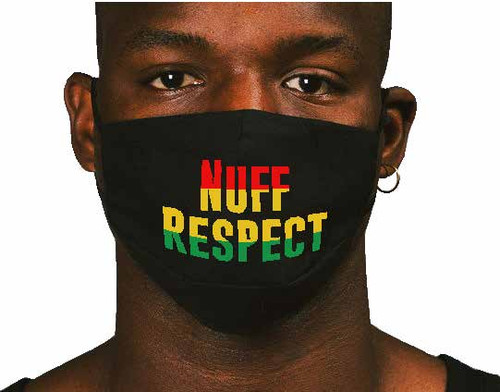 Nuff Respect - Face Mask