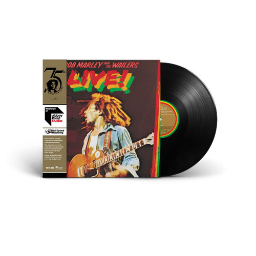 Live! (Half-speed Lp) - Bob Marley & The Wailers (LP)