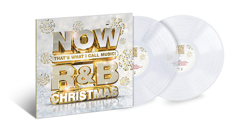 Now That's What I Call Music ! R&b Christmas - 2lp Icy Clear Vinyl (LP)