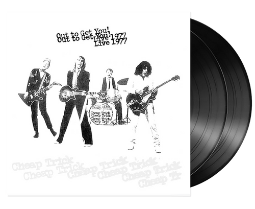 Out To Get You! Live 1977 2LP - Cheap Trick (LP)