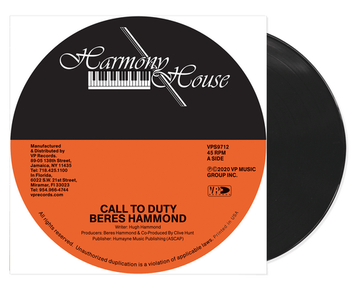 Call To Duty - Beres Hammond (7 Inch Vinyl)