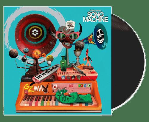Song Machine (Orange Vinyl)  - Gorillaz (LP)
