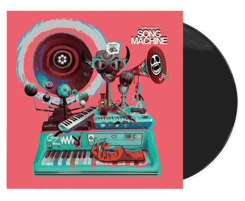 Song Machine Deluxe Edition - Gorillaz (LP)