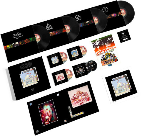 Songs Remains The Same Super Deluxe 2cd 3dvd 4lp - Led Zeppelin