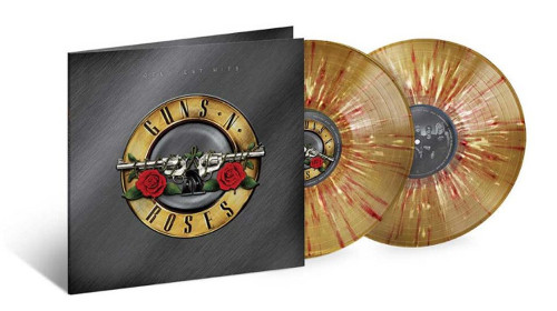 Greatest Hits 2lp Gold With Red & White Vinyl - Guns N Roses (LP)