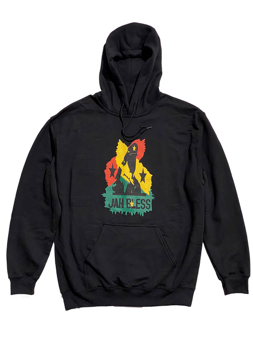Blessed By Jah Hoodie - Men