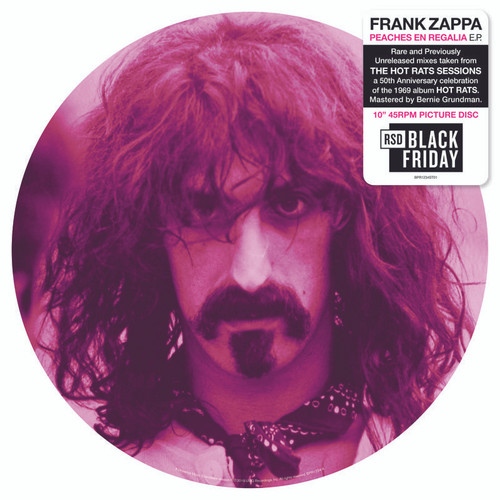 "Peaches En Regalia E.p. 10"" Picture Disc - Frank Zappa"
