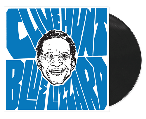 Blue Lizzard - Clive Hunt (LP)
