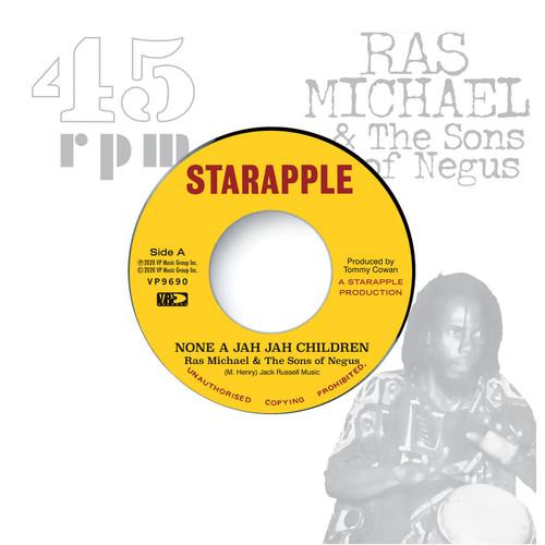 None A Jah Jah Children - Ras Michael & The Sons Of Negus (7 Inch Vinyl)