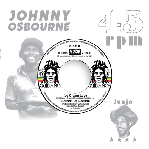 Ice Cream Love - Johnny Osbourne (7 Inch Vinyl)