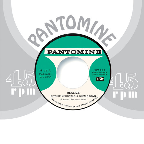 Realize - Ritchie McDonald & Glen Brown (7 Inch Vinyl)