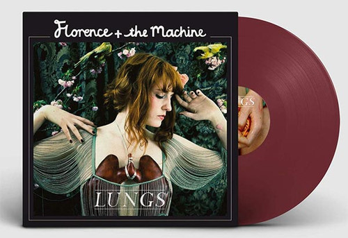 Lungs 10th Anniversary Ltd Color Vinyl - Florence & The Machine (LP)