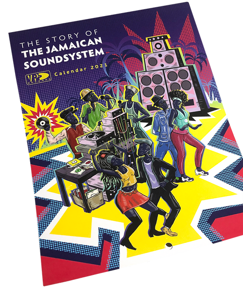 The Story Of: The Jamaican Soundsystem - VP 2021 Calendar