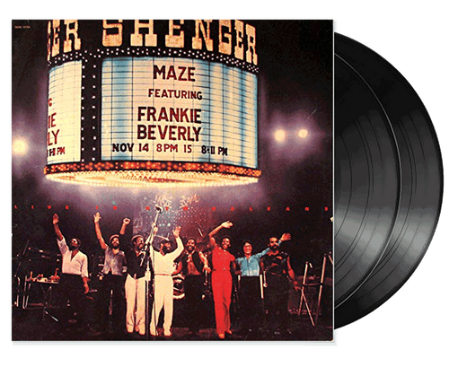 Live In New Orleans (2lp) - Maze Featuring Frankie Beverly (LP)