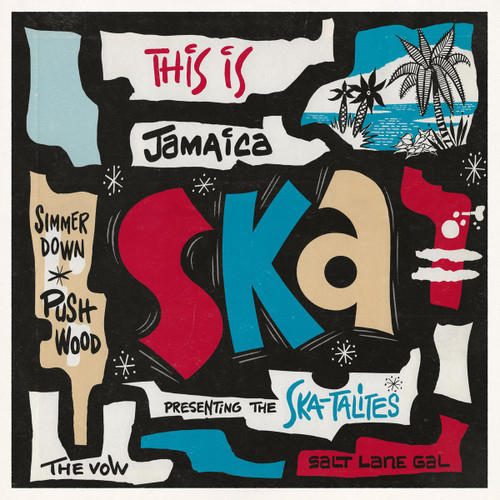 This Is Jamaica Ska Presenting The Ska-talites - Various Artists