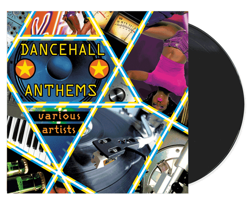 Dancehall Anthems - Various Artists (LP)