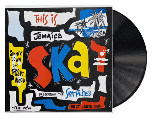 This Is Jamaica Ska Presenting The Ska-talites - Various Artists (LP)