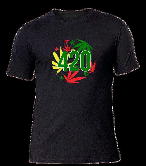 420 Leaf T-shirt - Men