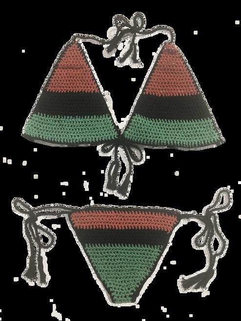 Africa Crochet Bikini - Swimwear