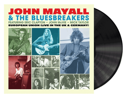 European Union (Live In The Uk & Germany) - John Mayall & The Bluesbreakers (LP)