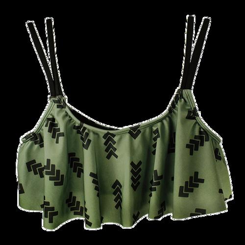 Arrow  Swimsuit  Top