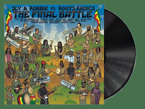 The Final Battle: Sly & Robbie Vs. Roots Radics - Sly & Robbie, Roots Radics (LP)