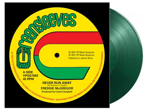 Never Run Away (Rsd Limited Green Vinyl) - Freddie Mcgregor (12 Inch Vinyl)