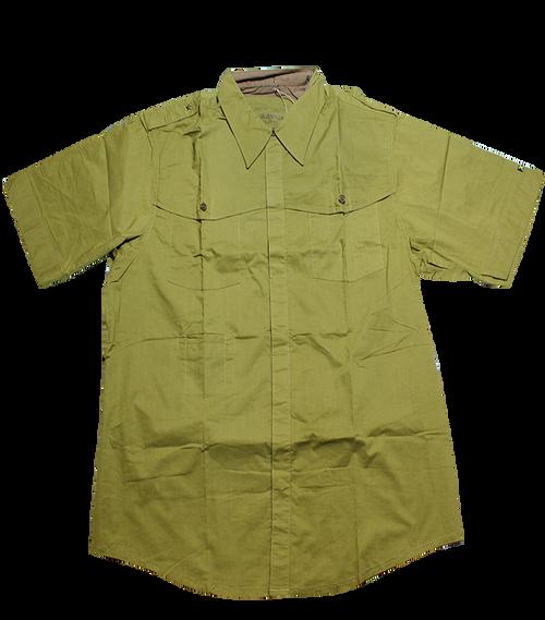 Military Woven Art Shirt