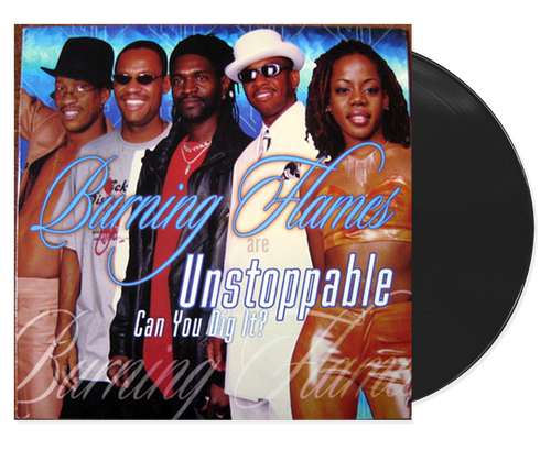 Unstoppable - Burning Flames (Lp)