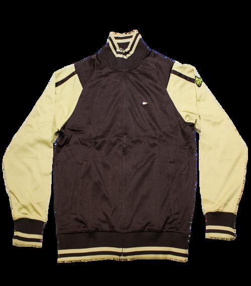 Keon Track Jacket Brown