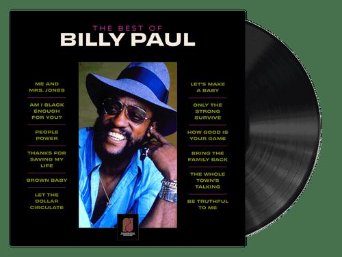 The Best Of Billy Paul - Billy Paul (LP)