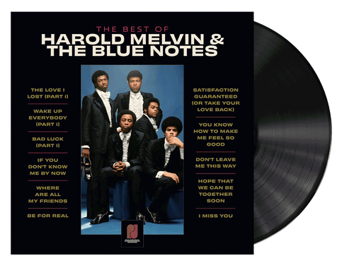 The Best Of Harold Melvin & The Blue Notes - Harold Melvin & The Blue Notes (LP)