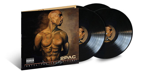 Until The End Of Time 20th Anniversary(4-LP) - 2 Pac (LP)