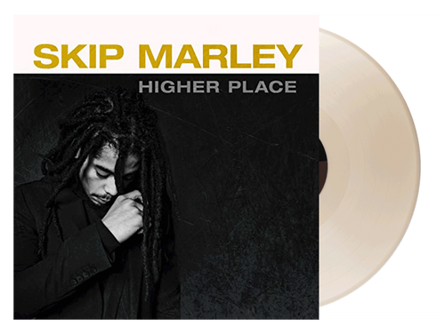 Higher Place Autographed (Beige LP) Anniversary Edition - Skip Marley (LP)