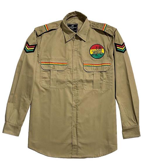 RD Sarge Woven Shirt - Khaki