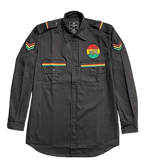 RD Sarge Woven Shirt - Black